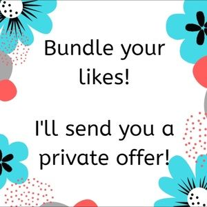 Other - Bundle two or more items for private offers